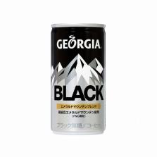 ジョージアブラックコーヒー