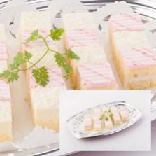 2種のミニカットケーキ