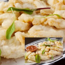 白身魚のフリット&颯佐ソース