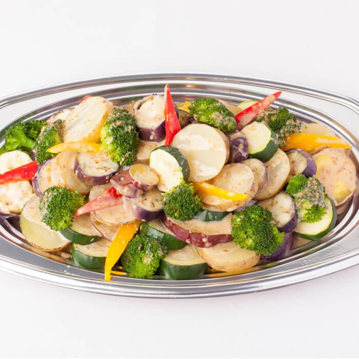 温野菜の胡麻ソース添え-detail-03