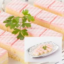 苺のミニカットケーキ