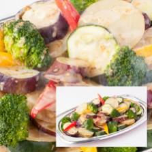 温野菜の胡麻ソース添え